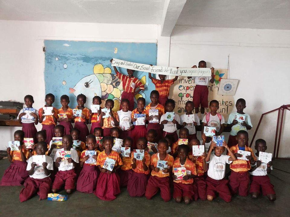 Picca school with books